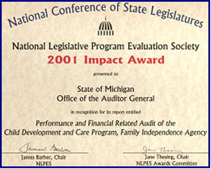 Performance and Financial Related Audit of the Child Development and Care Program