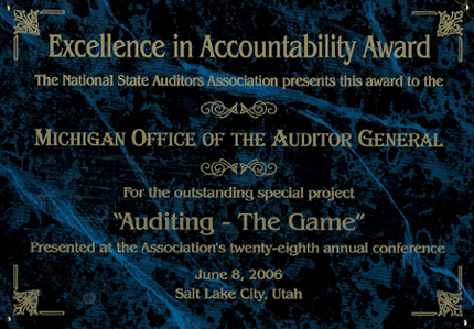 2006 NSAA Excellence in Accountability Awards
