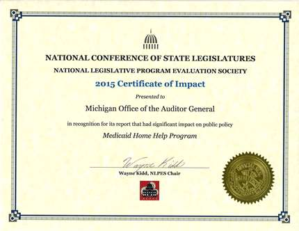 Medicaid Home Help Program